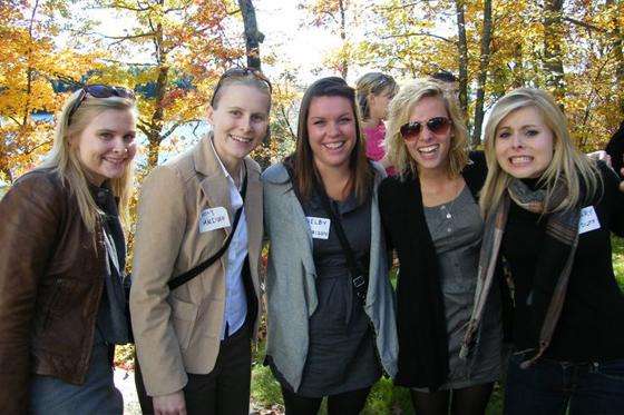 Guests Jenny, Emily, Shelby, Sydney & Hillary