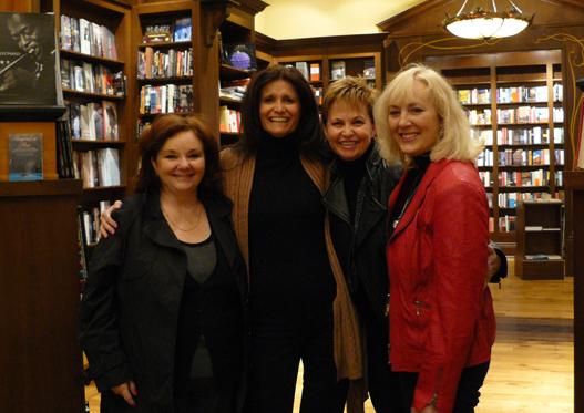 Cheryl with friends Pj Kwong, Lynn Porter-Zechner & Megan Winstanley