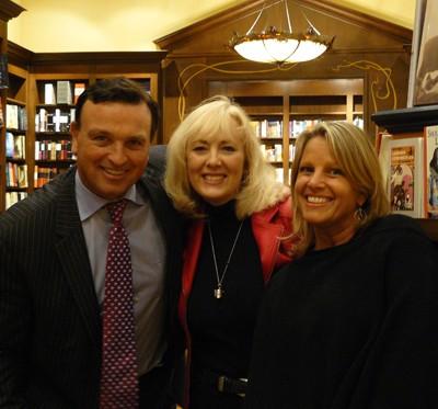 Cheryl with friends Scott & Andrea Cowie
