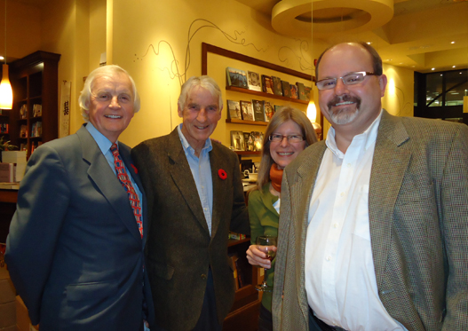 Patrick Boyer, publisher; Dr. Walter Hannah, Suzanne & Dominic Farrell, Cheryl's editor