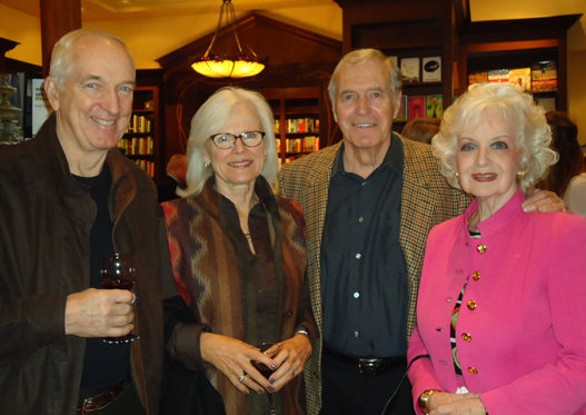 Steve & Evelyn Moorhead with Cheryl's parents, Bruce & Marie Evans