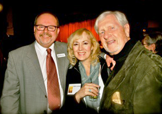 With Dominic & Ray at the Arts & Letters Club, 2014