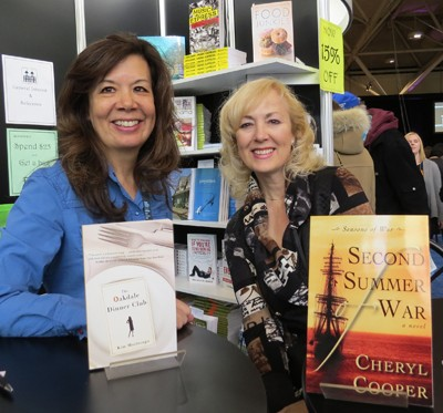 Toronto International Book Fair with author Kim Moritsugu