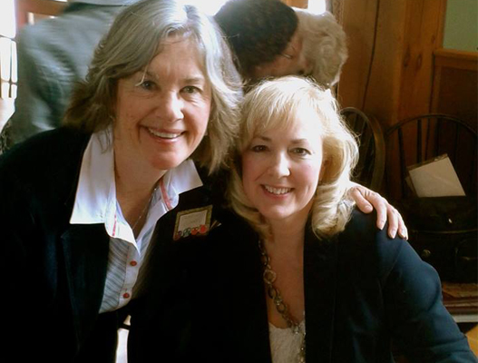 With Deb Clarke