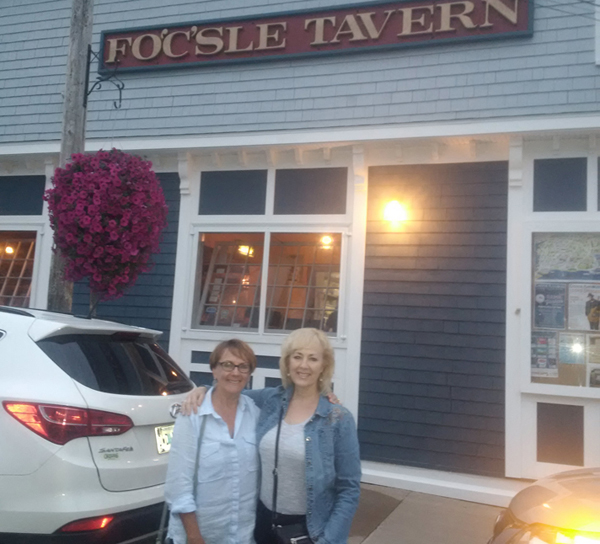 The Fo'c'sle Tavern (1764), Chester, oldest pub in N.S.