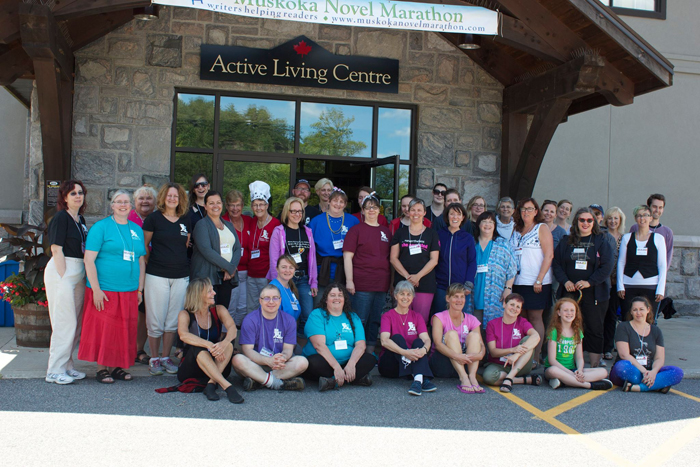 Muskoka Novel Marathon Participants
