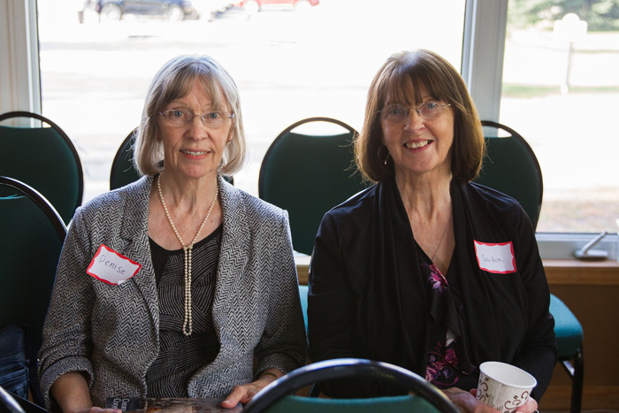 Denise Wile & Sandra Carruthers!