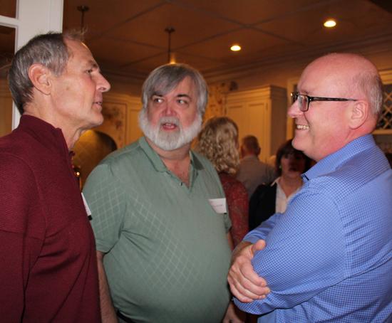 John, Gary and Bill