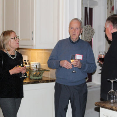 Linda, Ted and Bill