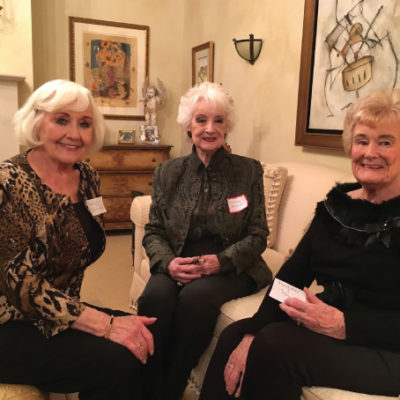 Auntie Marilyn, Mum and Auntie Marg