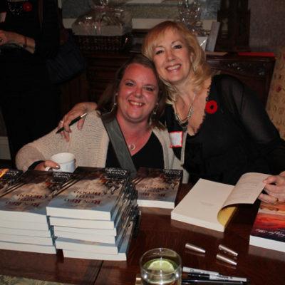 With Amanda