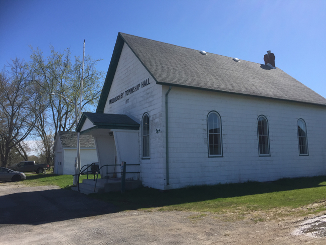 Willoughby Historical Society, Willoughby Township Hall